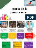 Especial. Historia de la democracia