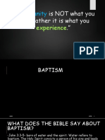 Lecture 9 Baptism