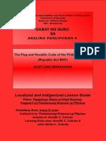 Aral-Pan-6_Gabay ng Guro sa Paggalang_Wasto at Hindi Wastong Paggamit ng Pambansang Watawat ng Pilipinas