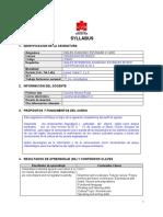Syllabus - INGLÉS AVANZADO ESTÁNDAR C1-MCE VESPERTINO 202015