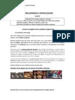 HISTORIA  CLASE N° 1 LEGADO DE LA ARTESANIA