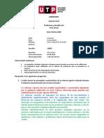 Examen final problemas y desafios del Perú actual CCC