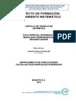 Matemáticas  - Ciclo III, S2