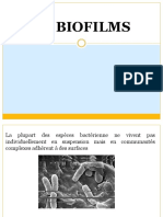 BIOFILMS ET INTERACTION MICROBIENNE