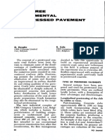 Joint-Free Experimental Prestressed Pavement