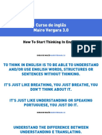 M06V33 - How To Start Thinking In English