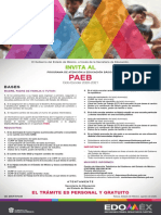Convocatoria PAEB Edomex 2020