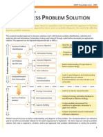 An Approach to Business Problem Solution