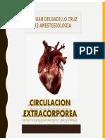 ANESTESIA CIRCULACION EXTRACORPOREA
