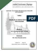 Calculo de un sistema fotovoltaico interconectado. Martinez vargas Ruth Italima.pdf