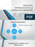 PLAN CAPITULO I