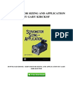 [M671.Ebook] Get Free Ebook Servomotor Sizing And Application By Gary Kirckof