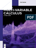 Multi-Variable Calculus A First Step.pdf