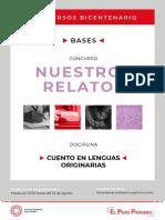 ANEXO 3 BASES NNRR Cuento en Lenguas Originarias