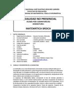 sílabo Virtual Matemática Básica MFeI-2020 I
