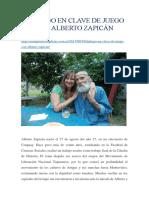 Entrevista Alberto Zapicàn