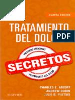 Tratamiento del dolor. Secretos, Cuarta edición.pdf