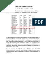 DISEÑO MECÁNICO 2- TORNILLO SIN FIN