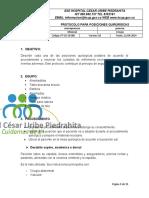 PT-02-18-005 PROTOCOLO PARA POSICIONES QUIRURGICAS