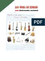 Musical instruments (instrumentos musicales)