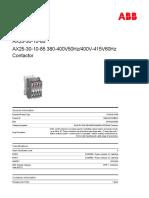 13. 1SBL931074R8510-ax25-30-10-85-380-400v50hz-400v-415v60hz-contactor