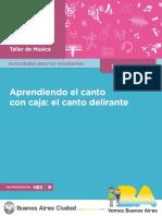1° AÑO ARTE TALLER DE MÚSICA APRENDIENDO EL CANTO CON CAJA EL CANTO DELIRANTE  ESTUDIANTE.pdf