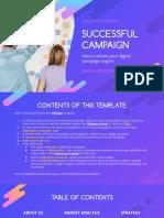 Successful Marketing Campaign by Slidesgo