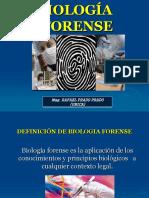 Clase Teórica N° 1 - La Biología Forense Como ciencia
