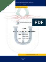 ESTRUCTURA DEL ESTADO - DERECHO CONSTITUCIONAL.docx
