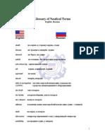 English-Russian-Glossary-Nautical-Terms
