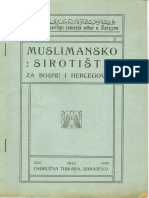 MUSLIMANSKO SIROTISTE u Sarajevu