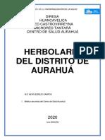 HERBOLARIO AURAHUA 2020