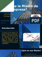 Qué es la Misión de una Empresa (1)