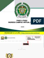 PASO A PASO INGRESO CAMPUS VIRTUAL DINAE - SEMINARIO INTEGRAL POLICIA POLIVALENTE