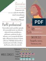 María González Comunicadora social y periodista