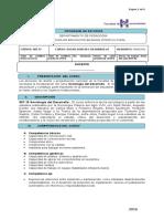 S 07.15 Sociología del Desarrollo