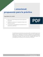 Regulacion emocional, propuesta para la práctica