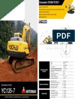 Excavadora Yuchai Yc135-7.pdf