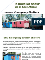 EHG Emergency Shelters_Presentation