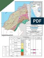 MAPA geológico  - TUMBES