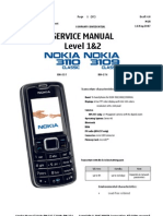 Nokia 3110c and 3109c Service Manual