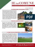 Notizie Dal Comune di Borgomanero del 07-08-2020