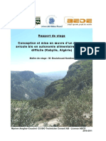 Elevage Avicole Kabylie - Rapport de Staget