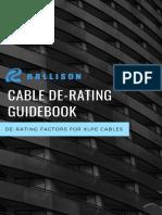 Rallison Cable derating handbook