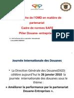 BCI (Cadre de Norme SAFE de l'OMD)