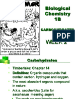 Carbohydrates Pt 1 WebCT