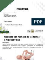 Caso clinico 7 Pediatria