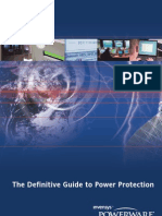 A definitive guide to power protection_Powerware