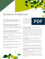 Sage100 v2012 Questions Reponses