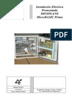 MAC PUARSA (Manual de Maniobra Micro Basic Prima  MINIPLANE)